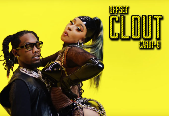 """Offset and Cardi B Show Off Their """"Clout"""""""