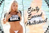 60 Second Photoshoot: Daniella Chavez