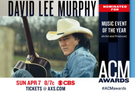 David Lee Murphy and Kenny Chesney Get Nominated for an ACM Award