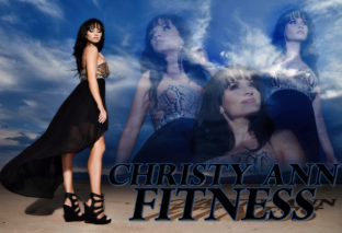 EXCLUSIVE! A Hot Winter's Night in the Desert: Christy Ann Fitness