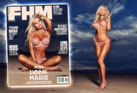 EXCLUSIVE! A Hot Winter's Night in the Desert: Miss Lynnie Marie