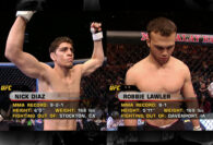 Check Out What Happened the First Time Nick Diaz Fought Robbie Lawler