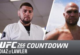 Countdown to Tonight's Nick Diaz vs Robbie Lawler 2