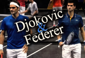Djokovic and Federer Team Up ... and LOSE!