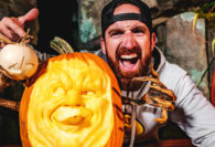 Dude Perfect Presents the Most Insane Giant Pumpkin Carving Contest