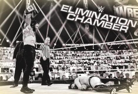 Daniel Bryan Wins Elimination Chamber ... Roman Reigns Crushes Bryan ... Edge Spears Reigns