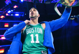 Enes Kanter Returns to Madison Square Garden, Instantly Makes History