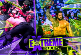 Roman Reigns Survives The Demon at WWE Extreme Rules