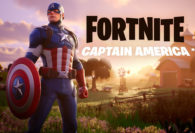 Captain America Fights For Justice in Fortnite