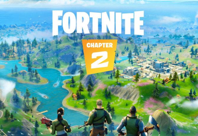 #BreakingNews on Fortnite Chapter 2