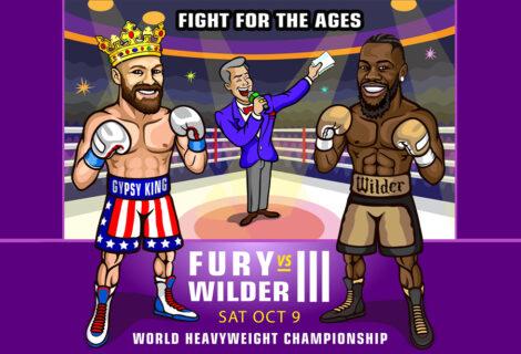 Tyson Fury KOs Deontay Wilder in a Classic Heavyweight Title Match