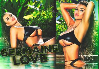 Germaine Love Makes Her #HustleBootyTempTats Debut