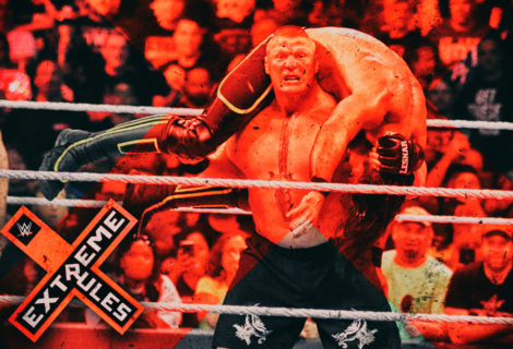 George Tahinos Photo Diary: Brock Lesnar Cashes in the Money in the Bank Contract, Regains Universal Title From Seth Rollins