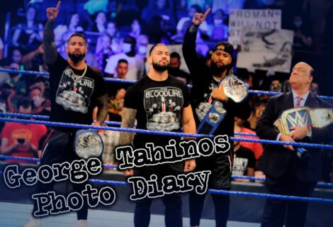 George Tahinos Photo Diary: Live Coverage of WWE Smackdown #NeverForget at Madison Square Garden