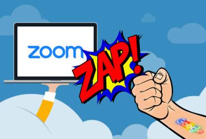 Google Zaps Zoom