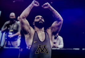 Gable Steveson Wins the NCAA Division 1 Heavyweight Championship