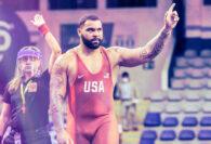 Gable Steveson DOMINATES in Olympic Debut