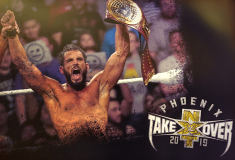 Hustle Photo Book: Johnny Gargano Vs Ricochet NXT TakeOver: Phoenix
