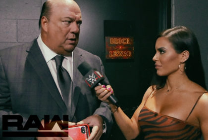 Paul Heyman Breaks Exclusive News About Brock Lesnar on WWE Monday Night RAW