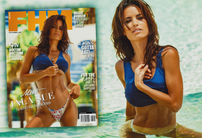 EXCLUSIVE! Introducing Jala Sue: The World's Most Beautiful Athlete