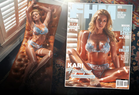 EXCLUSIVE! Kari Nautique: #HustleBootyTempTats Supermodel