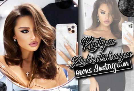 Katya Zubritskaya Owns Instagram