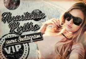 Anastasia Kvitko Owns Instagram