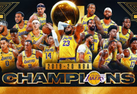 The Los Angeles Lakers Win the NBA Finals