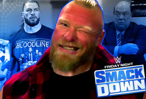 Double Whammy on Smackdown: Brock Lesnar is a Free Agent, and Roman Reigns Dispatches a Tearful Paul Heyman ... and the Usos ... to Handle Tribal Business on RAW!