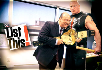 WWE Reminds You of 5 Forgotten Brock Lesnar Moments
