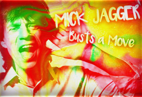 Mick Jagger Busts a Move on Social Media