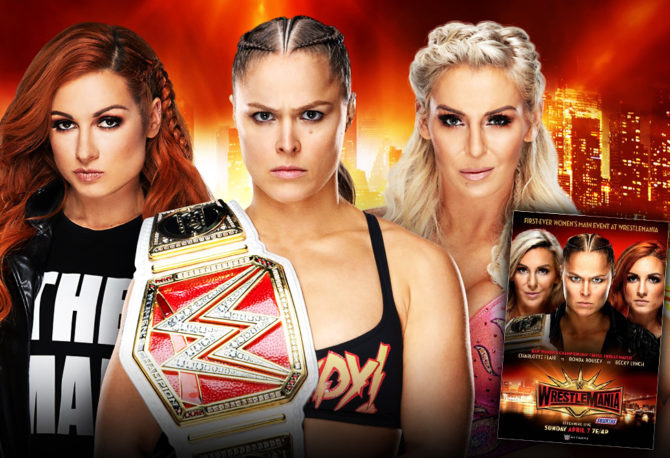 BREAKING NEWS! WrestleMania to Feature First-Ever Women's Main Event