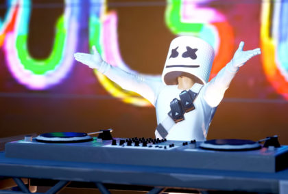 Marshmello Plays a Live Set … in Fornite!