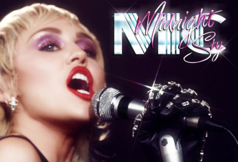 """Miley Cyrus Drops Self-Directed Video for """"Midnight Sky"""""""