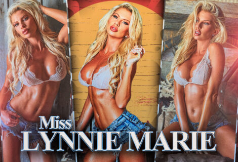 EXCLUSIVE: Miss Lynnie Marie Rides 'em Cowgirl