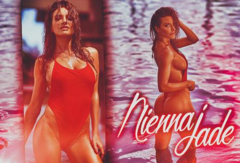 By Popular Demand: #HustleBootyTempTats Supermodel Nienna Jade