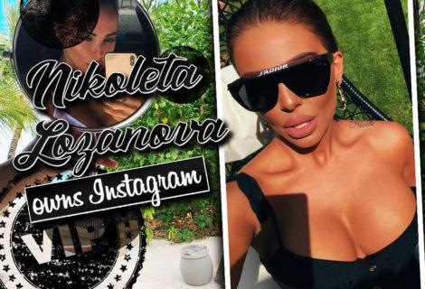 Nikoleta Lozanova Owns Instagram