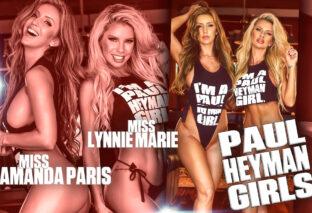 Miss Lynnie Marie and Miss Amanda Paris Model the #PaulHeymanGirl Shirt