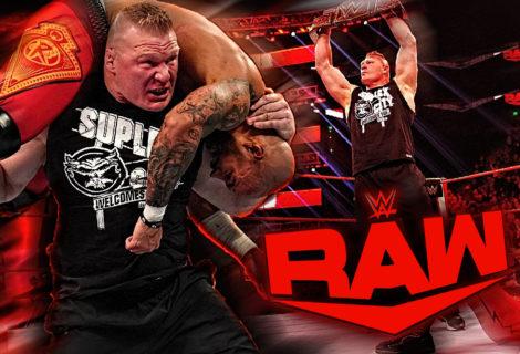 Brock Lesnar Lays Waste to Ricochet Ahead of WWE Super ShowDown