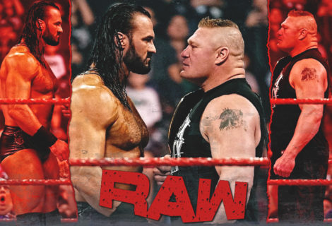 Here's the Full Unedited Drew McIntyre - Brock Lesnar Series of Confrontations from WWE RAW Brooklyn