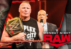 Brock Lesnar and Paul Heyman Deliver the Go-Home Message on the Go-Home Edition of WWE Monday Night RAW