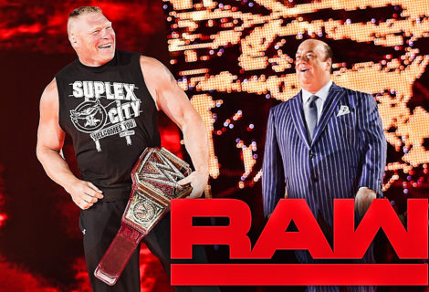 "Brock Lesnar and Paul Heyman on WWE Monday Night RAW: ""We Told You So!"""