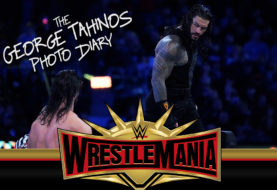 George Tahinos Photo Diary: Roman Reigns Defeats Drew McIntyre in First Singles Match Since Returning
