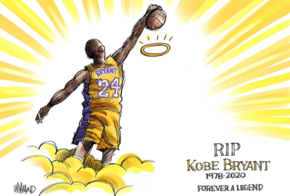 The NBA Pays Tribute to Kobe Bryant
