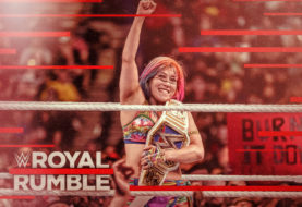 Hustle Photo Book: Asuka Retains the WWE Smackdown Women's Title Against Becky Lynch at the Royal Rumble