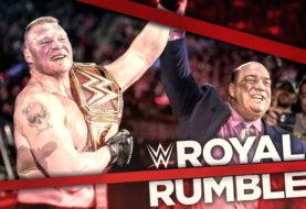 Brock Conquers Balor at WWE Royal Rumble