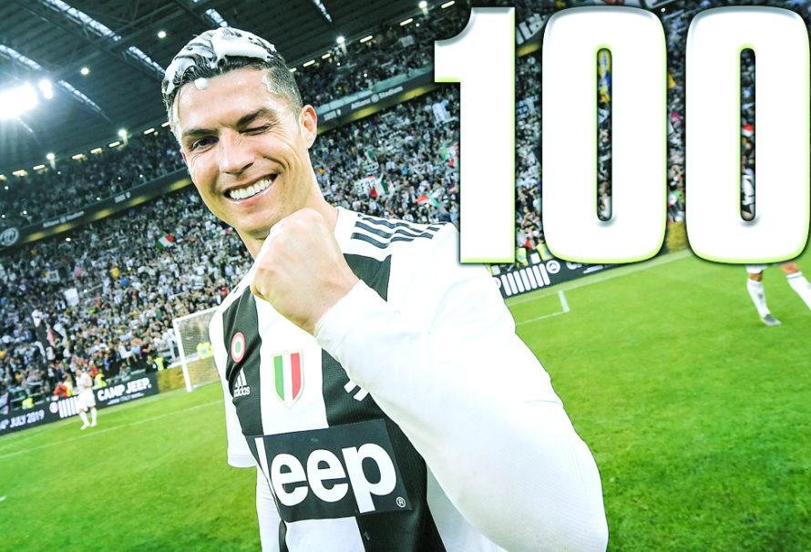 Get Ready For Ronaldo 100