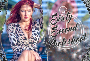 60 Second Photoshoot: SoCal Val