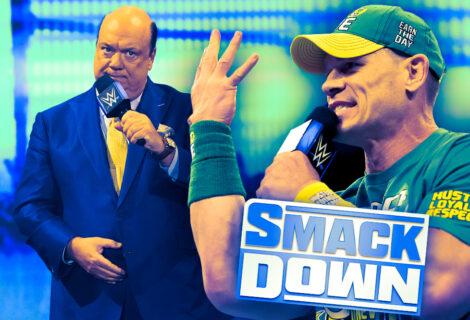 "Paul Heyman ""Sings"" John Cena's Theme Song on WWE Smackdown"