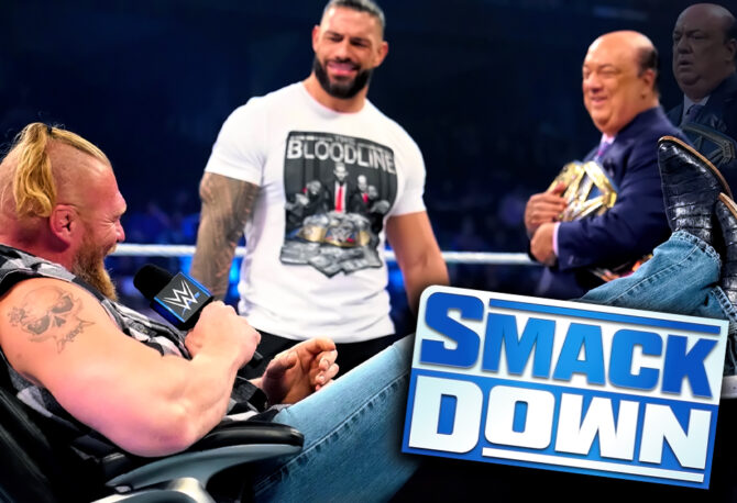 WWE Supersized Smackdown: Brock Lesnar Drops a Bombshell Against Roman Reigns and Paul Heyman